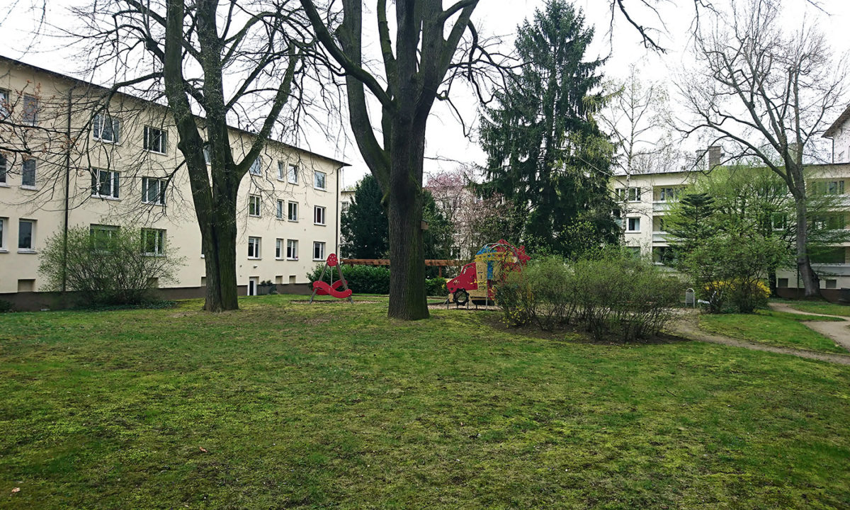 Pflegekonzeption von Landschaftsarchitekt Koppelmann für Wohnpark in Frankfurt